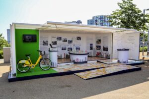 Shipping Container conversion experiential pop-up event
