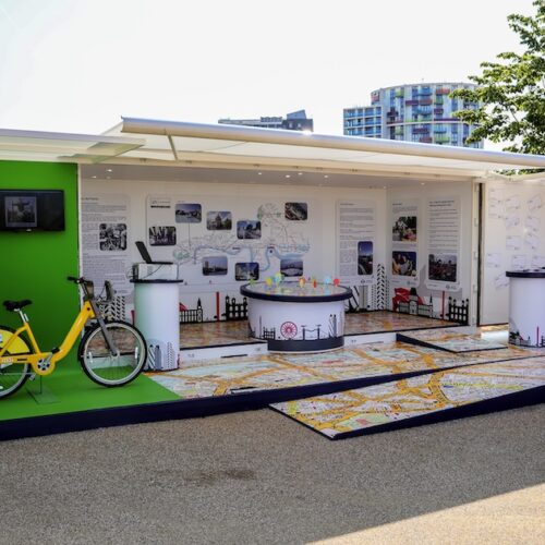 Transport For London (TFL) Shipping Container conversion experiential pop-up event