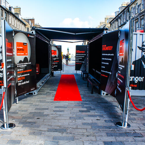 Cineworld Shipping Container Pop Up Cinema