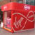 Virgin Shipping Container conversion experiential pop-up event